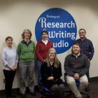 Left to right: Jane Nichols, Hannah Rempel, Uta Hussong-Christian, Beth Filar Williams, Chris Ervin, Dennis Bennett