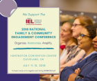 We support the 2018 National Family & Community Engagement Conference