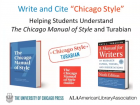 Write and Cite Chicago Style