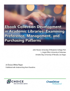 Ebook Collection Development in Academic Libraries cover
