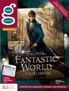 ALA Graphics Winter 2016 catalog featuring Eddie Redmayne as Newt Scamander