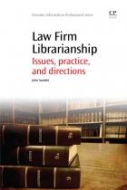 Book cover: Law Firm Librarianship