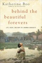 Book cover: Behind the beautiful forever