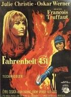 Poster of the 1966 film Fahrenheit 451