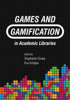 Games and Gamification in Academic Libraries cover