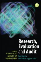 Research, Evaluation and Audit: Key Steps in Demonstrating Your Value