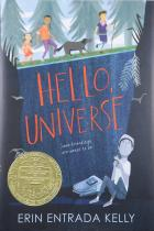Book cover: Hello Universe