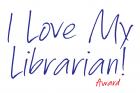 I Love My Librarian Award logo