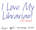 I Love My Librarian 2017 Logo