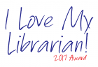 I Love My Librarian Award 2017 Logo