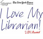 2014 Carnegie Corporation of New York/New York Times I Love My Librarian Award