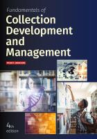 book cover for Fundamentals of Collection Development and Management, Fourth Edition