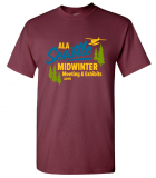 2019 ALA Midwinter Meeting t-shirt
