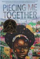 Book cover: Piecing Me Together