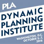 PLA Dynamic Planning Institute logo - Washington DC - October 5-7, 2016