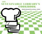 The Sustainable Library's Cookbook cover with a chef's hat and some books.