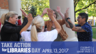 Take Action For Libraries Day Twitter Image