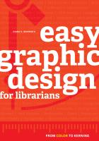 book cover for Easy Graphic Design for Librarians