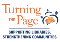 Turning the Page: Supporting Libraries, Strengthening Communities logo