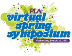 2013 PLA Virtual Spring Symposium logo