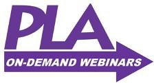 PLA On-Demand Webinars logo