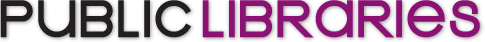 Public Libraries Magazine logo