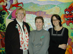 image of veronica schwartz, petra hollibaugh, and katie rao