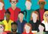 Diverse community image for Social Justice webinar