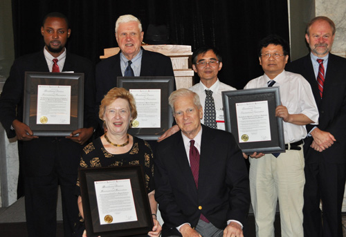 ALA Presidential International Innovation Citation Recipients for  2010