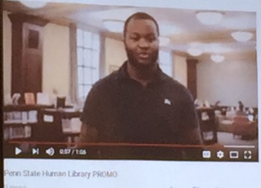 Video of Human Library at Penn State