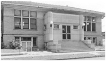 : cherry street branch of the evansville public library, a carnegie library built for african americans