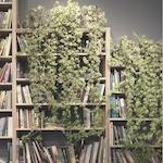 Books with plants