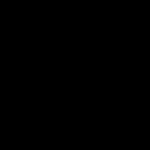 black medal icon