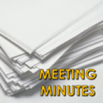Meeting minutes and schedules
