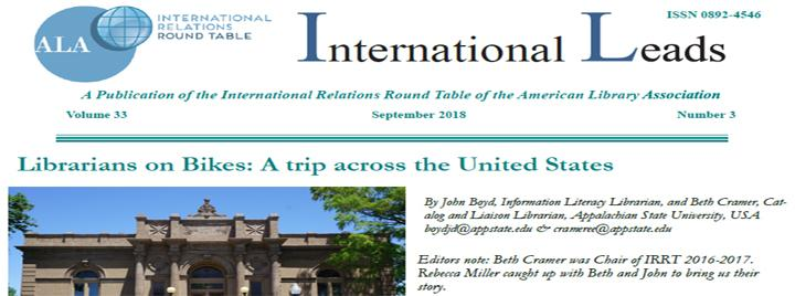 September issue of International Leads