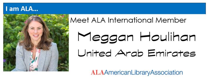 I am ALA-Meggan Houlihan