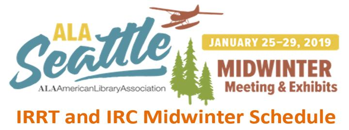 IRC and IRRT Midwinter Schedule