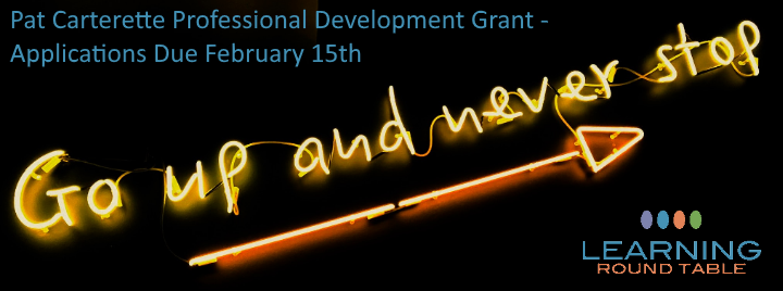 Pat Carterette Profession Development Grant - Applications Due February 15th. Photo by Fab Lentz on Unsplash