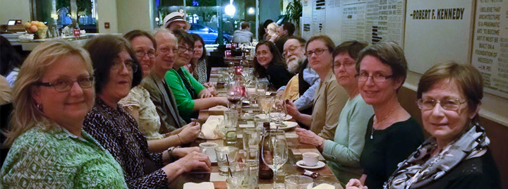 photo of LHRT members sitting at a table