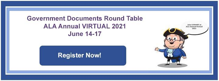 GODORT Annual VIRTUAL 2021 Meetings June 14-17