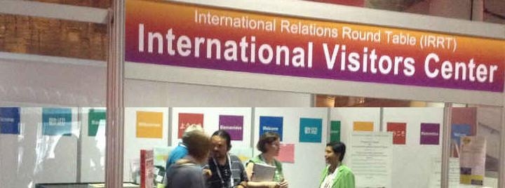 Volunteer at the IRRT Visitors Center to greet international visitors.