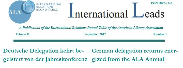 International Leads Masthead