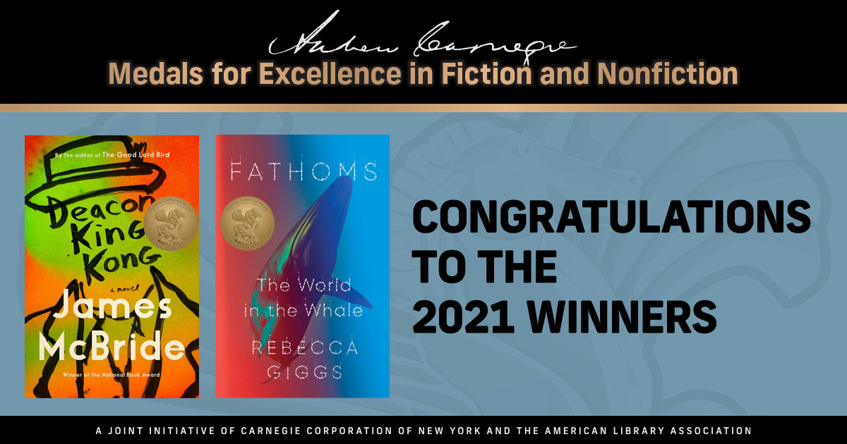 Andrew Carnegie Medals for Excellence 2020 Shortlist