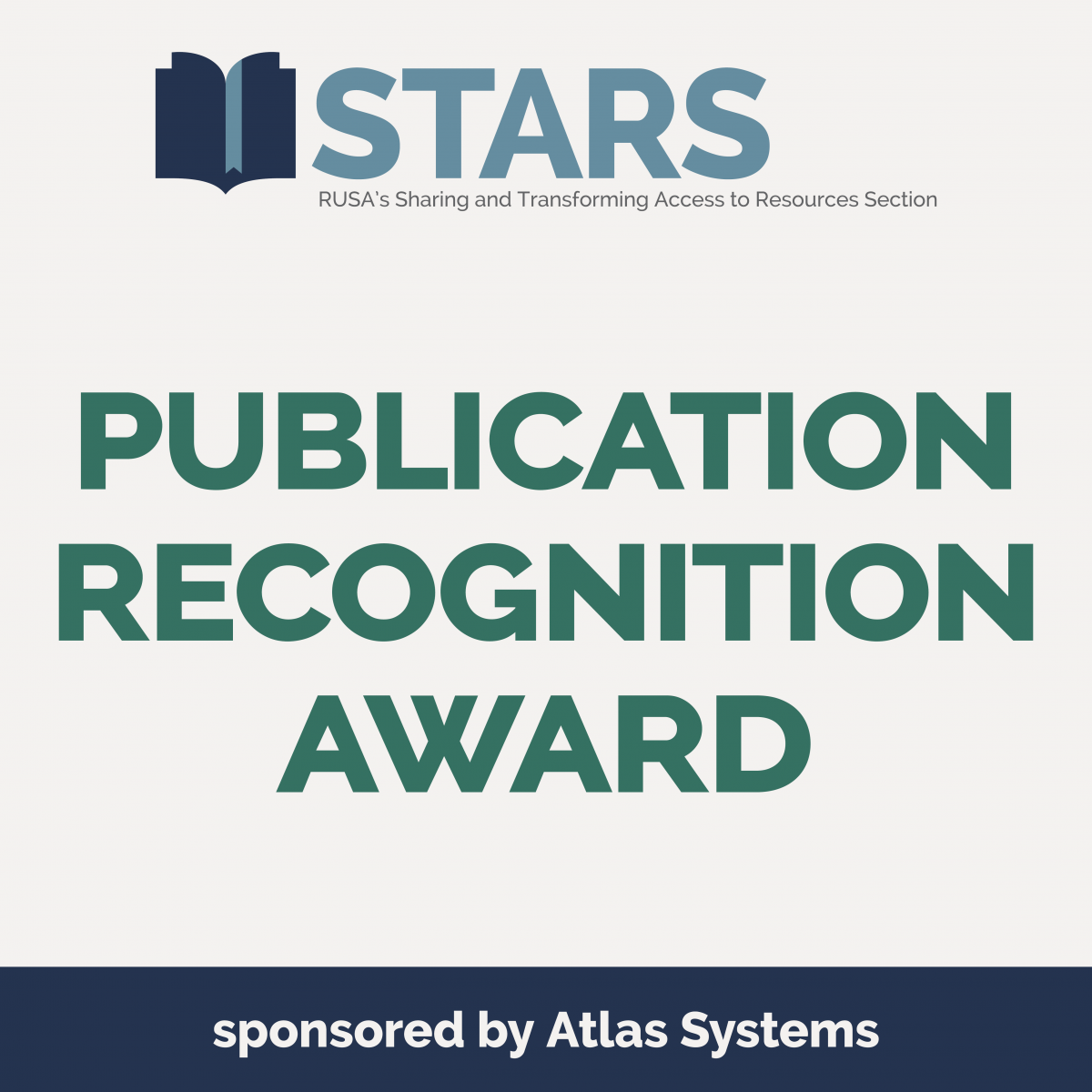 STARS Publication Recognition Award