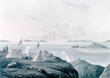 View of the Arctic Sea, Franklin Expedition, 1821, Libraries and Archives Canada