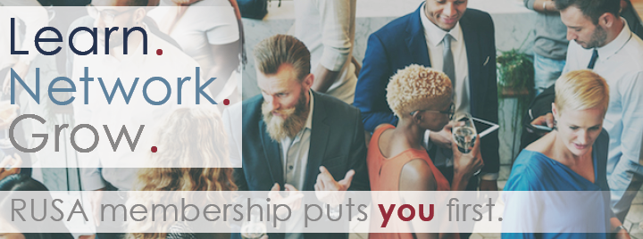 Learn, network, grow; RUSA membership puts you first.