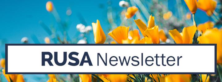 RUSA eNewsletter - April