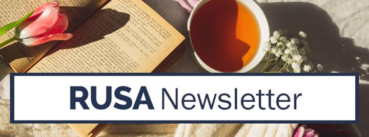 RUSA eNewsletter - April 2021