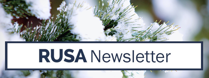 RUSA eNewsletter - January