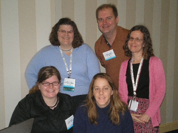 services to adults committee members pose for a picture during the rss all committee meeting at midwinter 2008 in philadelphia